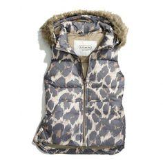 Coach vest ♥