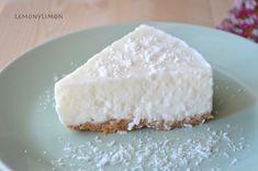 Tarta de yogur y coco Sin horno