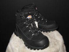 New Dickies Escape Steel Toe Boots Sz 9.5M Black Safety Footwear NWB   Dickies  WorkSafety  cybermonday  blackfriday  ebay  shopify  walmart cf2f359f6