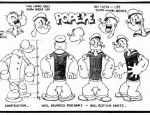 Max Fleischer: (illustration research) Popeye is Fleischers most famous character that he created. Classic Cartoon Characters, Classic Cartoons, Cartoon Styles, Black Cartoon, Vintage Cartoon, Vintage Comics, Character Model Sheet, Character Modeling, Cartoon Sketches