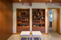 New Moon Rising - midcentury - family room - vancouver - Synthesis Design Inc.
