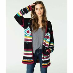 Love this Cabin style cardigan! Link to Amazon to order