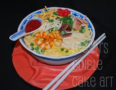 Noodle Cake/Lam Mee/Birthday Noodle Cake