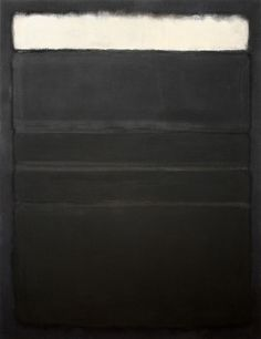 paintmeblack:  Untitled (1963) by Mark Rothko