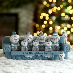 The Original Snow Buddies™ Couch Figurine and other at PersonalCreations.com