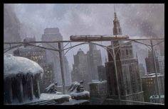 Dieselpunk: city
