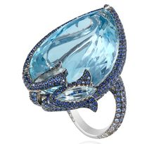 Bague Aigue-Marine Red Carpet 2012 - Chopard Joaillerie
