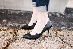 Vampy kitten heels by Paul Andrew