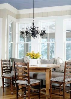 15 Appealing Small Dining Room Ideas Home Design Lover Narrow Dining Tables, Small Dining Area, Dining Room Buffet, Dining Room Walls, Dining Room Design, Kitchen Dining, Room Kitchen, Kitchen Decor, Living Room