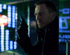 Under cover: James Bond in Skyfall The master of disguise has grown designer stubble in an attempt to blend in at the high tech facility
