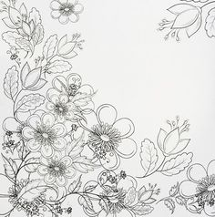 Pretty Flower Pictures To Color