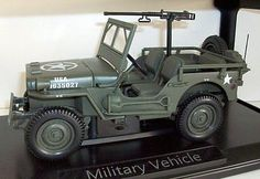 Norev-1-18-Scale-189011-Military-Vehicle-US-Army-1942-Green-Jeep