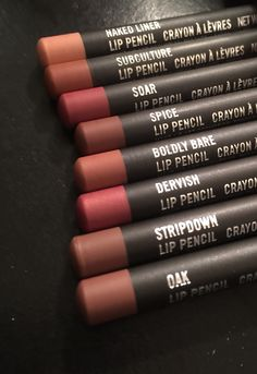 Some of the best from MAC lipliners #MAC #lipliners #favs
