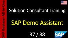 SAP - Curso Grátis Online: 37-38 - SAP Demo Assistant