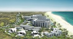 Called #Saadiyat #Island #Beach #Resort, the complex will have a low-rise 295-room #hotel and 11 #luxury villas, along with meeting rooms and a #spa.