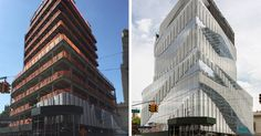 Architectural Details: Brooklyn Health Center's Dynamic Digitally Fritted Façade - Architizer