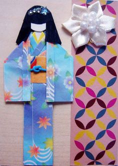 The girl in the blue kimono by tengds, via Flickr.