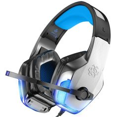 BENGOO Gaming Headset for Xbox One, PC, Controller, Noise Cancelling Over Ear Headphones with Mic, LED Light Bass Surround Soft Memory Earmuffs for Computer Laptop Mac Nintendo Switch Games: Electronics Best Gaming Headset, Ps4 Headset, Gaming Headphones, Ear Headphones, Skullcandy Headphones, Nintendo Switch Games, Nintendo 3ds, Xbox One 360, Speakers