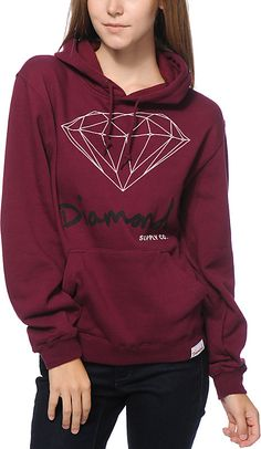 Zumiez Diamond Supply Co. OG Script Hoodie Found on my new favorite app Dote Shopping #DoteApp #Shopping
