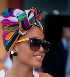 30 Head Wrap Styles That Can Turn Any Bad Hair Day Into A Day Of Glam [Gallery]