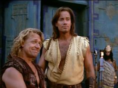 """""""Hercules: The Legendary Journeys"""" ~ One of my favourite shows of all time! Michael Hurst as Iolaus = favourite character!"""