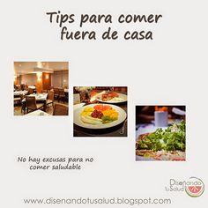 Tips para comer fuera de casa – @diseandotusalud    Las comidas fuera de casa son inevitables y es divertido disfrutar de un bonito día fuera de casa.