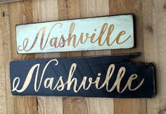 You can not get too much of Nashville. Our wood signs are created on reclaimed wood gathered from old barns and fallen structures right here in middle Tennessee and hand painted. Each sign is handcrafted and may vary slightly in appearance due to the character of the wood. Sizes are approximate.  D-ring hangers included on back for easy display. available online at www.signniche.com