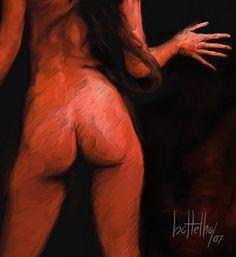 Nude painting by Bottelho. http://carlosbotelho.com