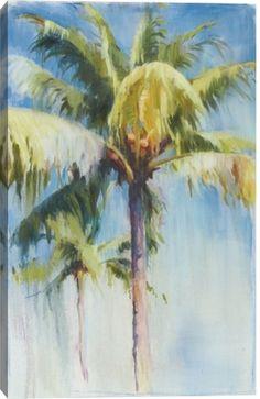 Blue Palm by Allyson Krowitz