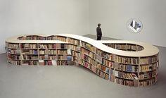 infinity-bookshelf by shoplet, via Flickr