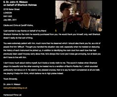 """""""The production team of Sherlock left a review of a violin purchased from Cardiff Violins in character."""