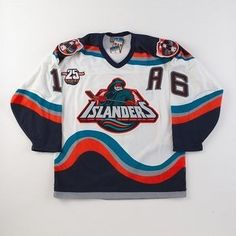 Yup.  The Gordon's fish stick man sits lonely in my closet too.  I loved these jerseys.  And heck, the New York Islanders could maybe blame their play on something other than lack of talent.