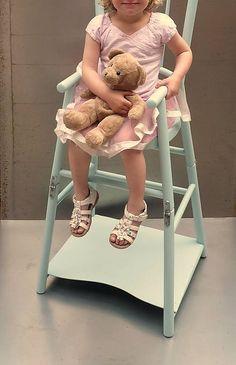 umeleckestolarstvoTC / Vysoká drevená stolička pre dieťa. Thonet