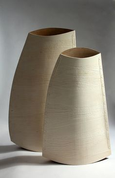 Malcolm Martin & Gaynor Dowling - Still Life Bend, Cherry and birch ply, silk Textile Artists, Ceramic Artists, Ceramic Vase, Ceramic Pottery, Museum Of Fine Arts, Art Museum, Art Society, Ceramic Techniques, Philadelphia Museum Of Art