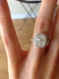 real life wedding rings