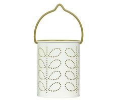 Orla Kiely Tealight Lantern Green