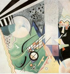 Green composition -  Wassily Kandinsky