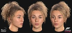 Airship Images talked about the pipeline they use to create different hairstyles for virtual characters in games like Forza Horizon 3 and The Division. Forza Horizon 3, The Pipeline, Hair Reference, Different Hairstyles, Game Character, Character Inspiration, The Selection, Sculpting, Female
