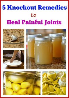 These 5 Miracle Joint Pain Recipes Might Be Simple But They Found Them Very Effective