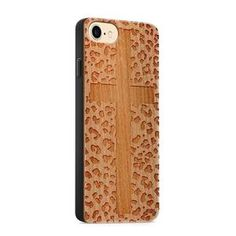 Items similar to Cherry Wood Engraved Phone Case - Cross Leopard on Etsy Note Fonts, Wooden Phone Case, Christian Jewelry, Colorful Backgrounds, Phone Cases, Cherry, Products, Prunus, Gadget