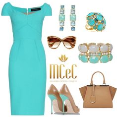 Sem título #303 by mulherescrentesechiques on Polyvore featuring Roland Mouret, Sergio Rossi, Fendi, Humble Chic, Ippolita, Kate Spade and Dita