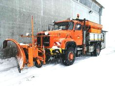 Snow Removal Equipment, Heavy Duty Trucks, Snow Plow, Classic Trucks, Old Trucks, Cars And Motorcycles, Tractors, Transportation, Vintage