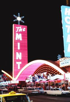 "vintagegal: "" The Mint in downtown Las Vegas c. 1950s """