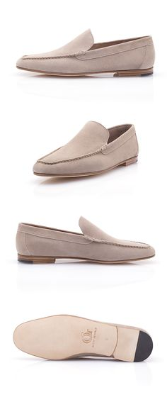 The Porto Cervo is a stylish and colorful Venetian loafer designed to accompany you in your summer getaways. Made of calf buckskin, the Porto Cervo is an extremely comfortable moccasin that you can perfectly wear sockless. Venetian, Moccasins, Calves, Loafers, Beige, Colorful, Luxury, Stylish, Summer