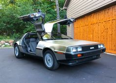 Bid for the chance to own a 1982 DeLorean at auction with Bring a Trailer, the home of the best vintage and classic cars online. Bmw Classic Cars, Classic Cars Online, Dmc Delorean, Bttf, Best Muscle Cars, Car Show, Buick, Touring, Restoration