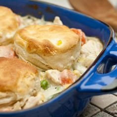 Easy Chicken and Biscuits Recipe, dinner tonight