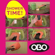 cómo lavar tu equipo OBO! #shower #showertime #obo #oboargentina #arqueros