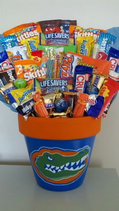 My boyfriend is a huge Florida Gators fan and would absolutely love if I sent him something like this!