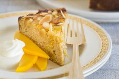 Gluten-free tropical fruit and almond cake – Recipes – Bite