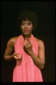 A young Loretta Devine from Original Production of 'Dreamgirls' on Broadway, Photographer: Martha Swope, New York, NY Black Actresses, Black Actors, Black Celebrities, Celebs, Blonde Actresses, Young Actresses, Female Actresses, Hollywood Actresses, Black Girls Rock